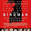 Birdman (ou la surprenante vertu de l'ignorance)
