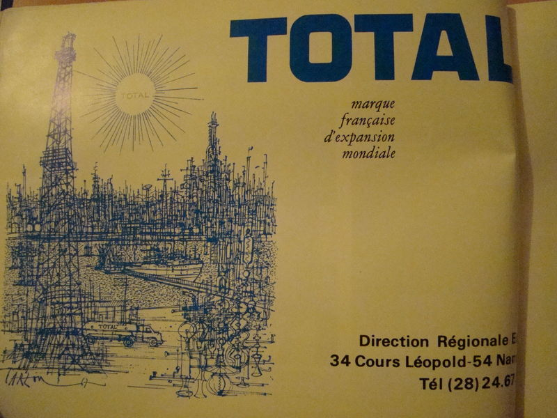 [1970] Le sponsor Total